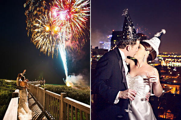 Inspired By... New Year's Eve Weddings!