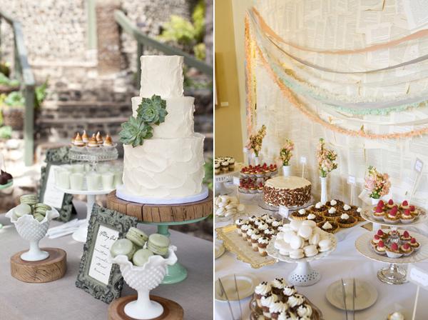 Things We Love... Wedding Dessert Tables!