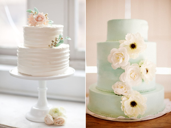 Inspired By Top 5 Wedding Cake Trends Of 2012 From Confectionery Designs