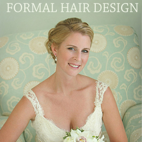 Formal Hair Design