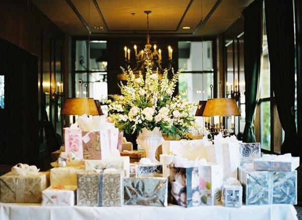 des  cadeaux pour un mariage