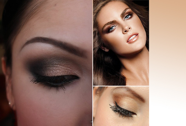 Gold Smokey Eye Bridal Makeup : Gallery For > Wedding Makeup Looks Smokey Eyes