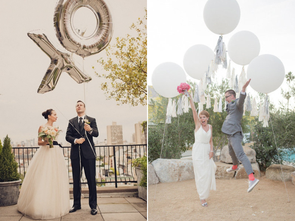 Things we love balloons did you have balloons at your wedding junglespirit Images