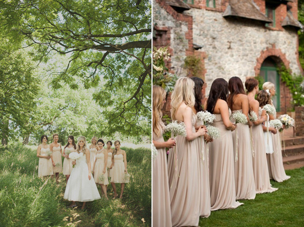 Will You Have Champagne Colored Bridesmaid Dresses At Your Wedding