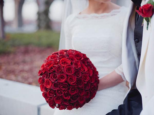 newport wedding winter flowers