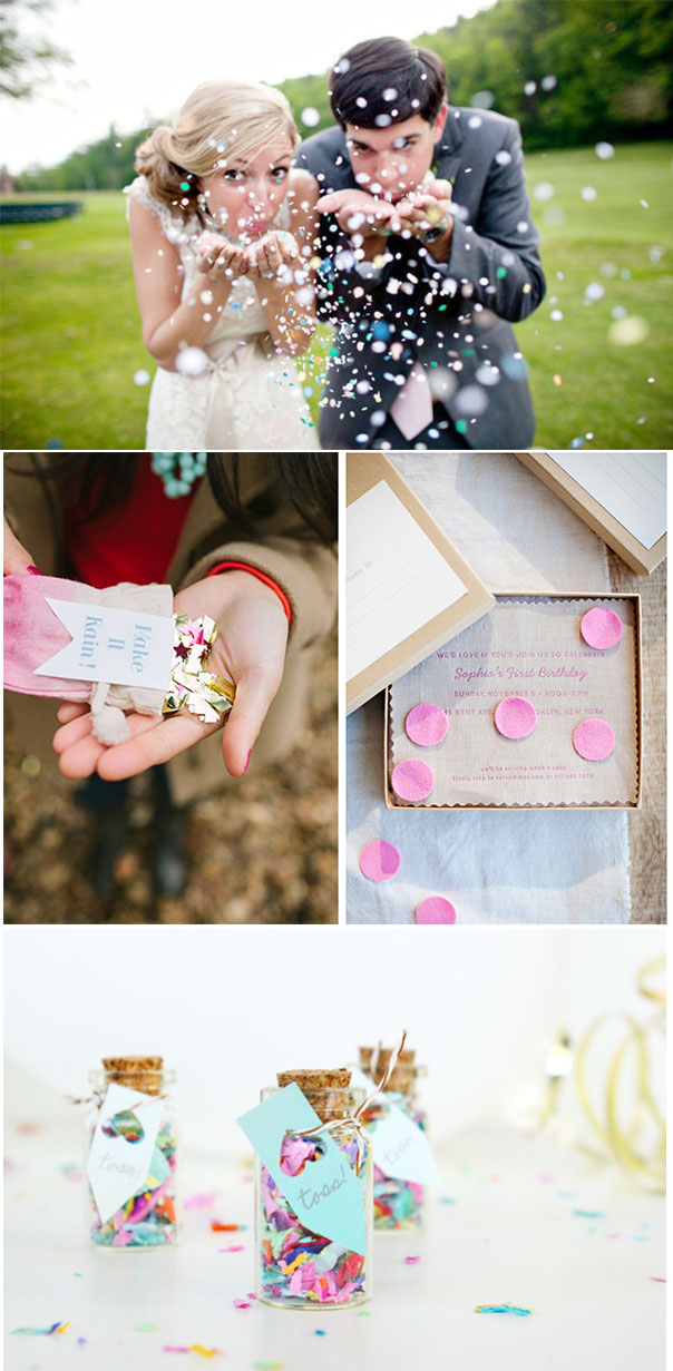 Confetti Wedding Details