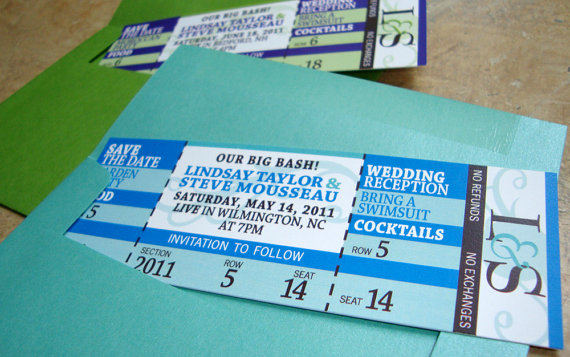 Designs - Concert Invite Ticket