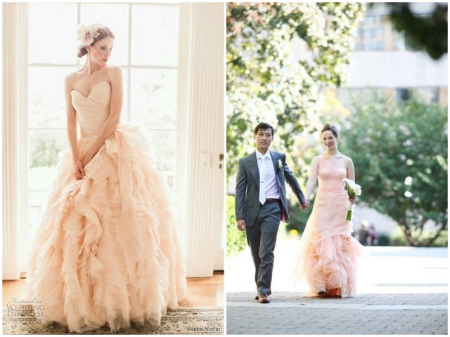 Newport wedding glam blush