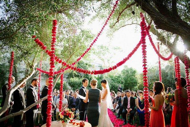 Newport Wedding Glam flowers