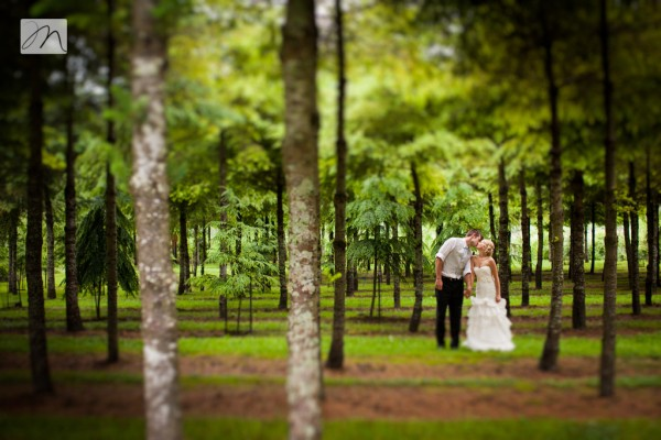 Forest Bride Groom Romance