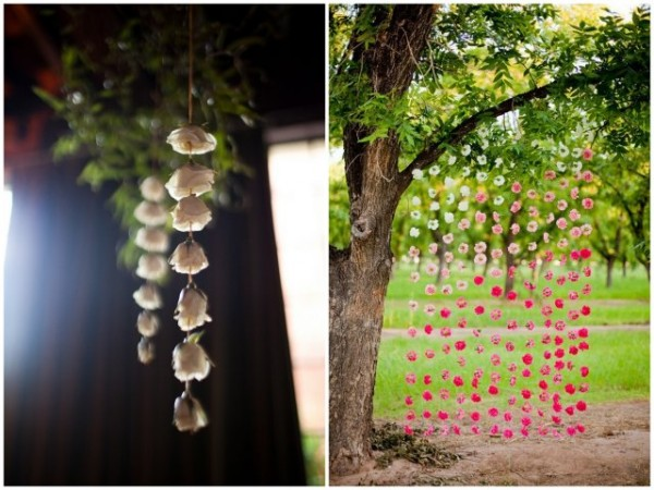 Newport Wedding Glam hanging flowers