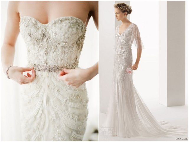Newport Wedding Glam sparkly dress