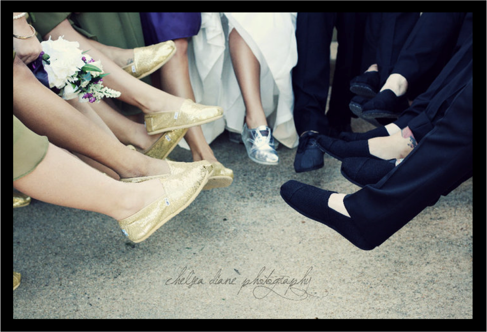 the look toms toms wedding shoes XOXO Samantha