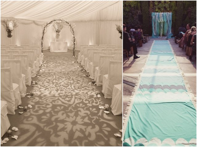Newport Wedding Glam aisle4