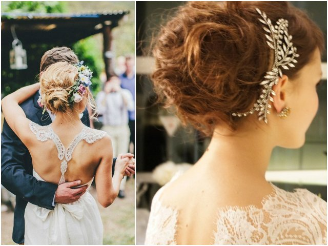 Newport Wedding Glam updo
