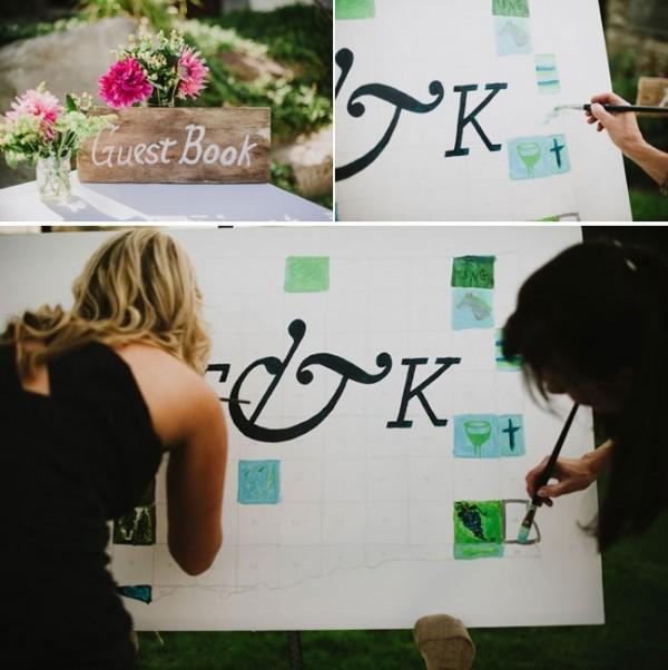 paint guest book