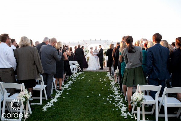 Ocean Cliff Wedding